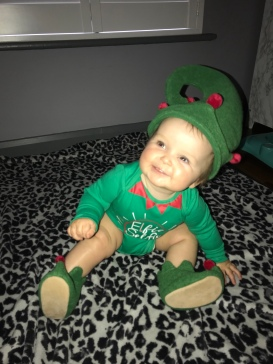 Our little Elf...